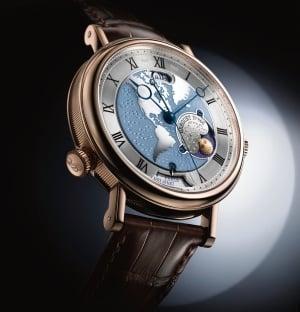 Стильные часы Breguet Hora Mundi