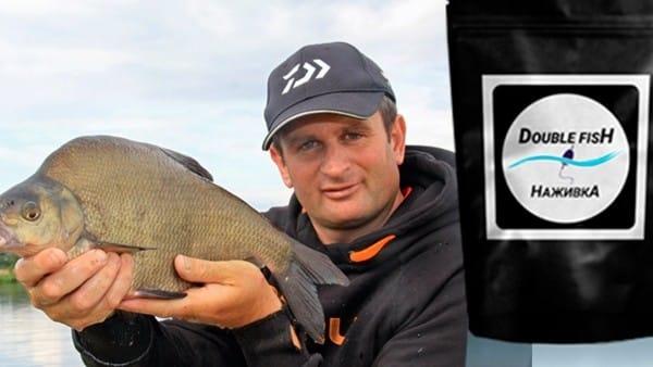 """Рыбалка с прикормкой """"Double Fish"""" и мой обзор о ней"""