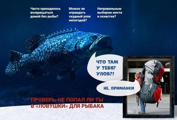 Сложности зимней рыбалки и помощь с Fish XXL