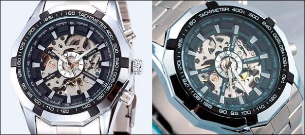 Характеристики часов Winner Skeleton Luxury