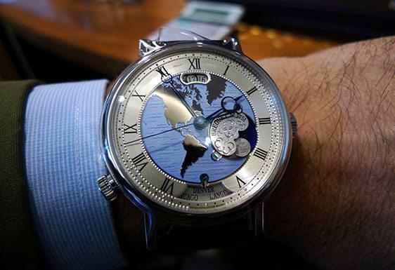 Характеристика часов Breguet Hora Mundi