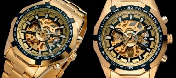 Обзор часов Winner Skeleton Luxury для мужчин