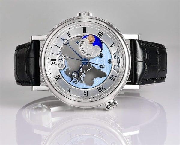 Часы Breguet Hora Mundi и их описание