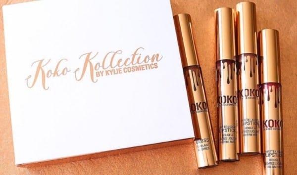 Упаковка и форма выпуска набора Kylie Cosmetics Koko Kollection