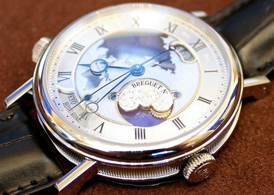 Инструкция часов Breguet Hora Mundi