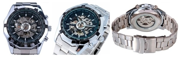 Преимущества наручных часов Winner Skeleton Luxury
