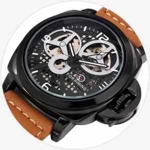 Элитные наручные часы Megir Forsining для мужчин