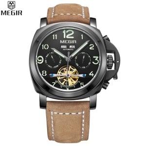 Мужчкие часы Megir Relogio Masculino