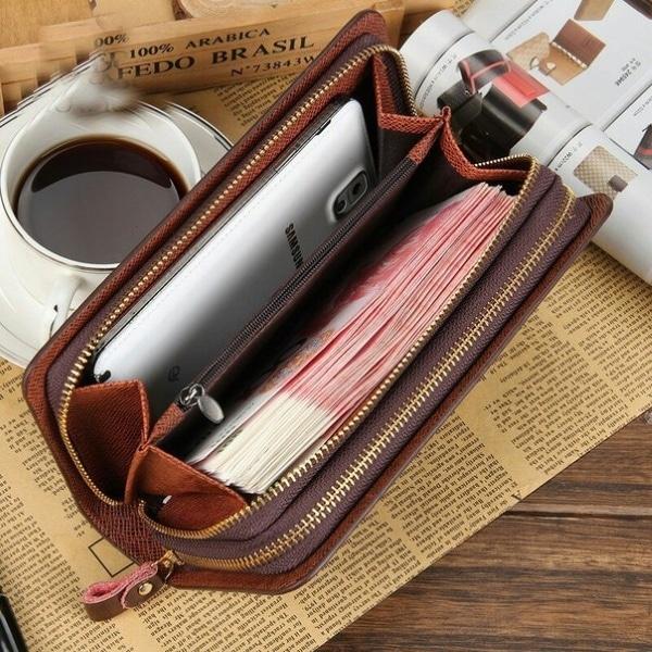 Эксплуатация портмоне для мужчин Baellerry Leather
