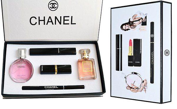 Популярные способы приобретения наборов Chanel Present Set 5 in 1