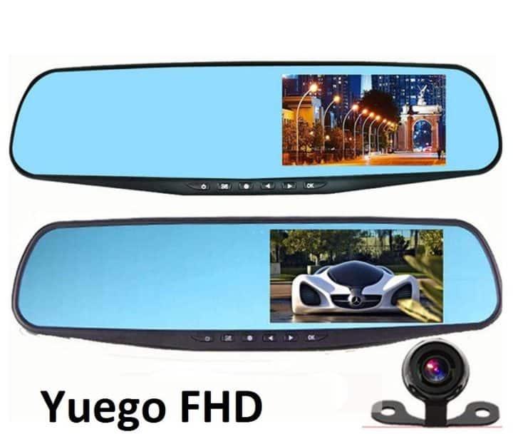 Зеркало видеорегистратор Yuego FHD