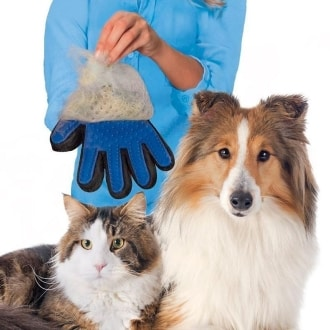 Pet Brush Glove - перчатка для расчески шерсти животных