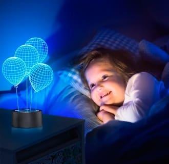 Красивый 3D светильник