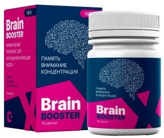 Brain Booster X - капсулы для увеличения мозговой активности