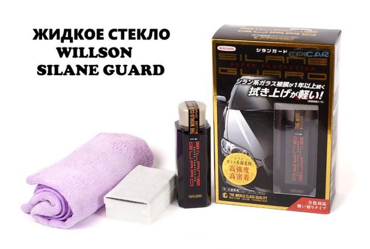Silane Guard - жидкое стекло для авто: обзор, отзывы, купить, цена