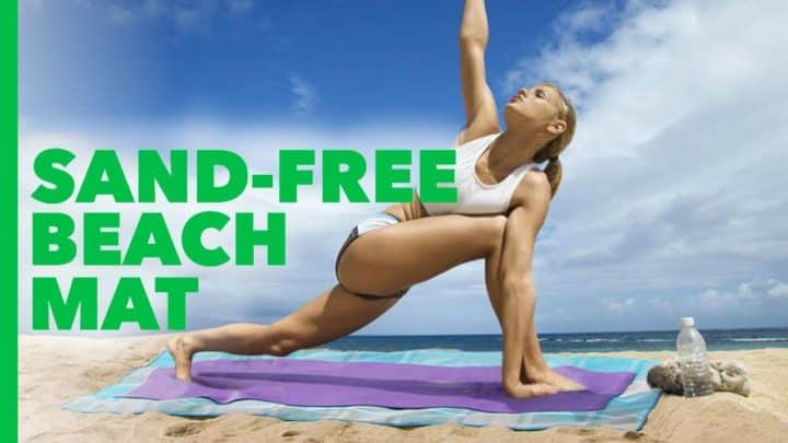 Подстилка анти-песок Sand Free Mat: купить, цена, обзор, отзывы