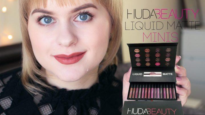 Набор матовых помад Huda Beauty: купить, цена, обзор, отзывы