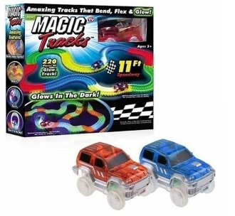 Magic Track - гнущийся и светящийся гоночный трек