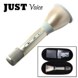 Портативный караоке-микрофон Just Voice