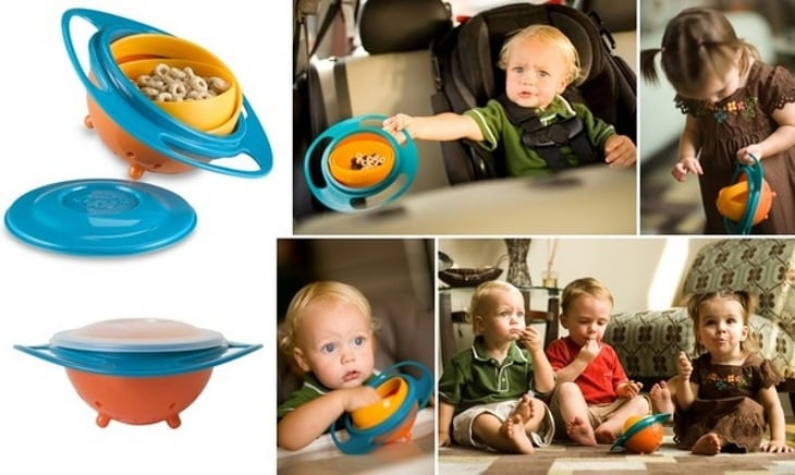Gyro Bowl - тарелка-непроливайка для детей