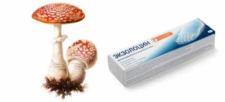 Мой обзор на противогрибковую мазь Экзолоцин (Exolocin)
