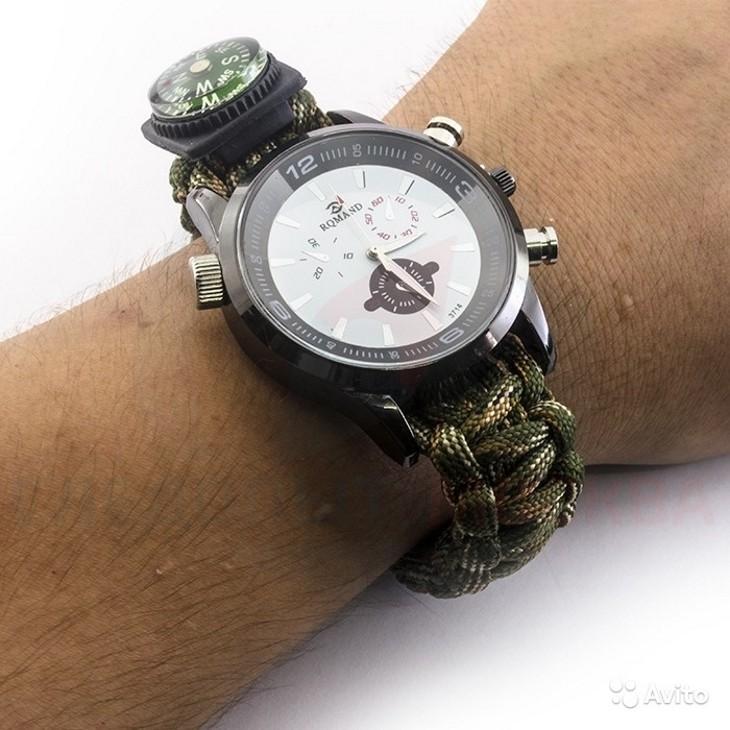 Внешний вид часов XinhaoParacordWatch