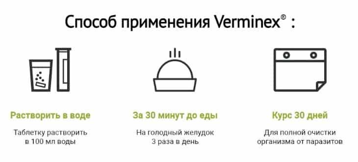 Инструкция по применению Verminex