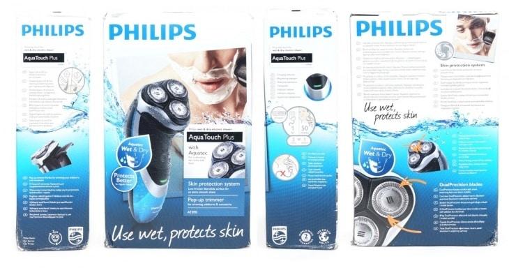 Упаковка Philips AquaTouch