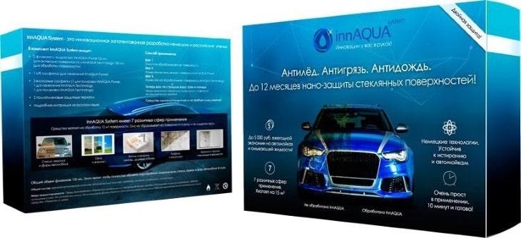 InnAqua System - антигрязь, антидождь и антиналедь для авто