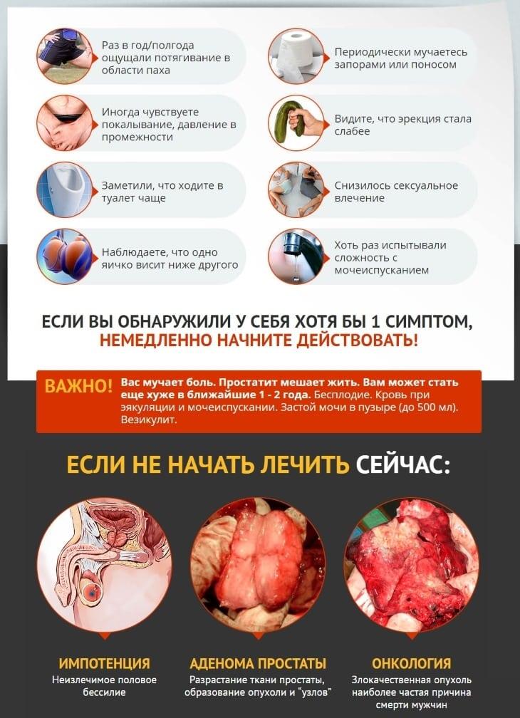 Появление простатита и его проблемы