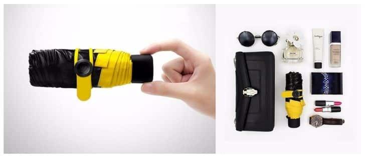 Компактность Mini Pocket Umbrella