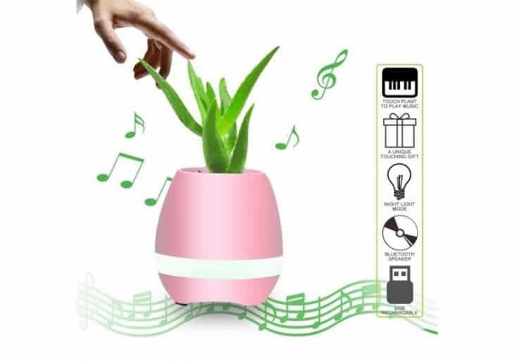 В чем преимущества Smart Music Flowerpot