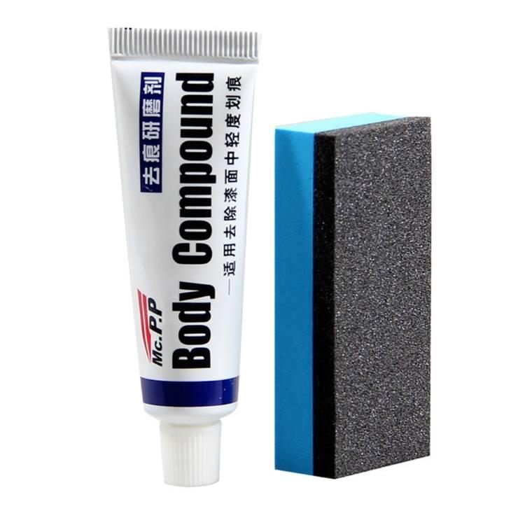 BodyCompound для устранения царапин на авто