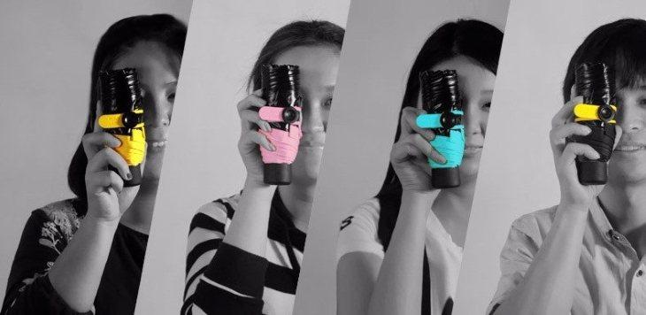Палитра цветов и характеристикизонтика Mini pocket umbrella
