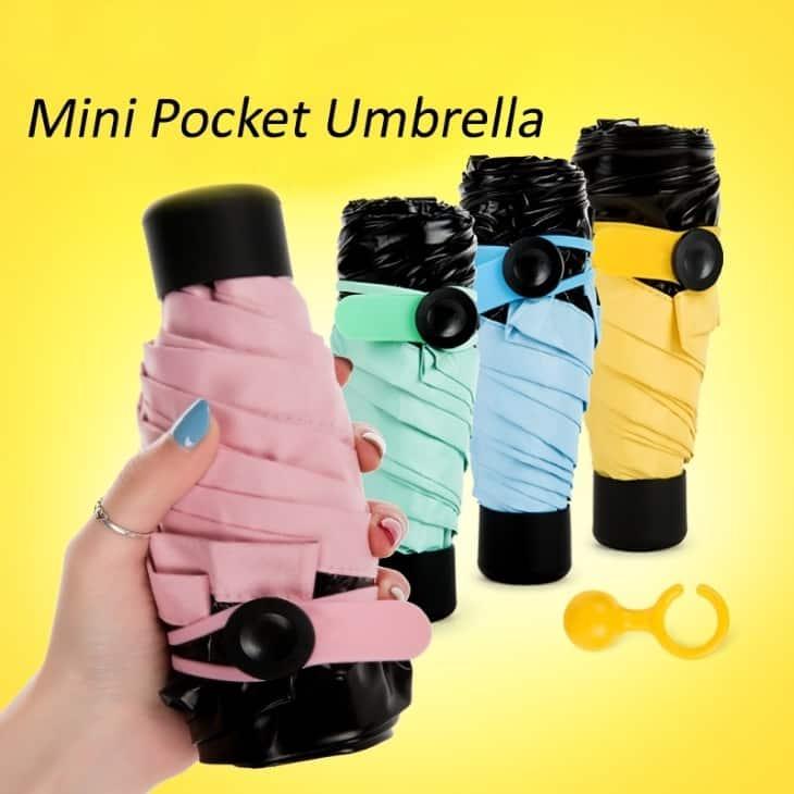 Как правильно пользоваться Mini pocket umbrella