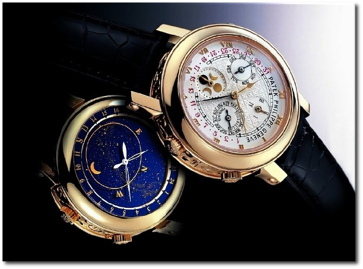 Элитные часы Patek Philippe Sky Moon Tourbillion