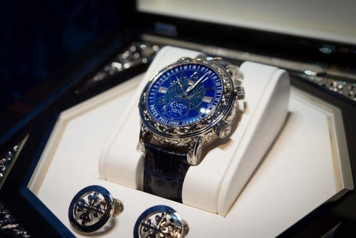 Коллекция часов Patek Philippe Sky Moon Tourbillion