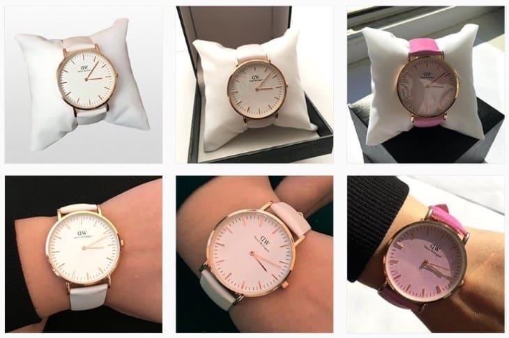 Внешний вид модели часов для женщин Daniel Wellington