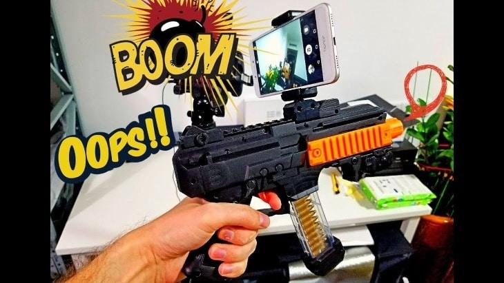 Что входит в комплект AR Game Gun