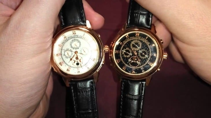Внешний вид часов Patek Philippe Sky Moon Tourbillion