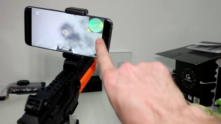 Подготовка автомата AR Game Gun к игре