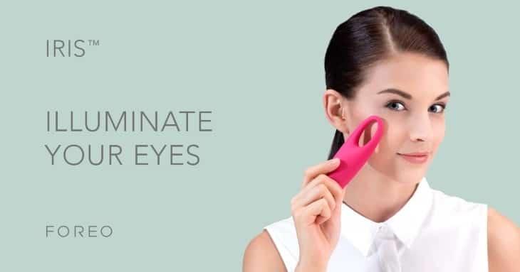 IRIS - массажер для улучшения кожи вокруг глаз