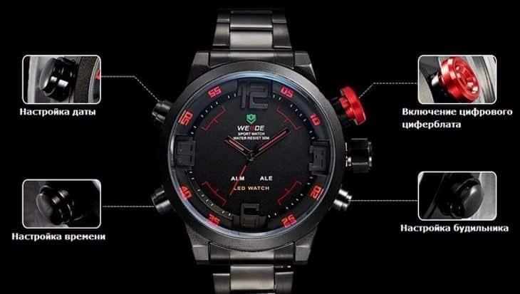 Что из себя представляют часы Weide Sport