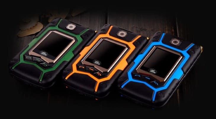 Выберете цвет своего Land Rover X9 FLIP
