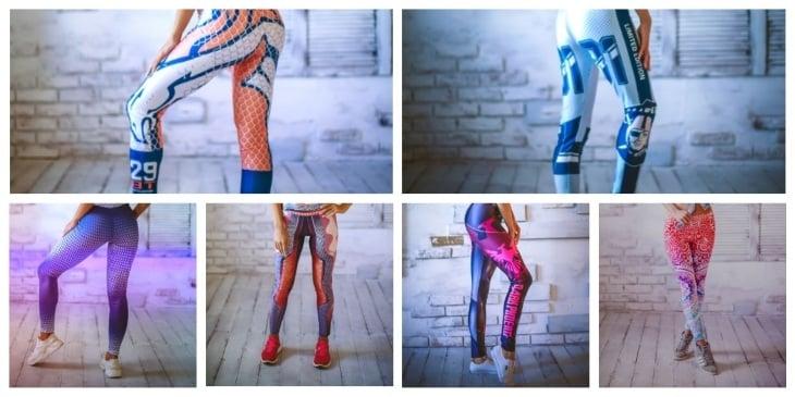 Как выглядят Modern Leggings