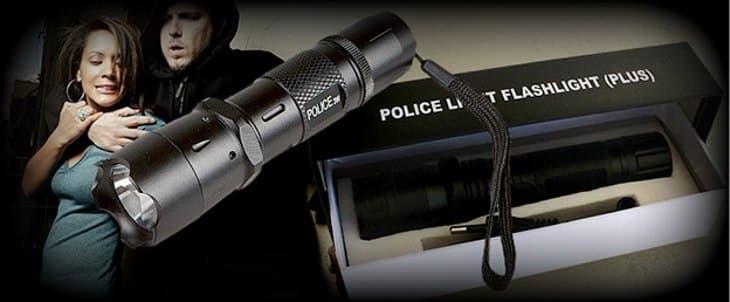 Удобство использования шокера-фонаря ОСА 1100