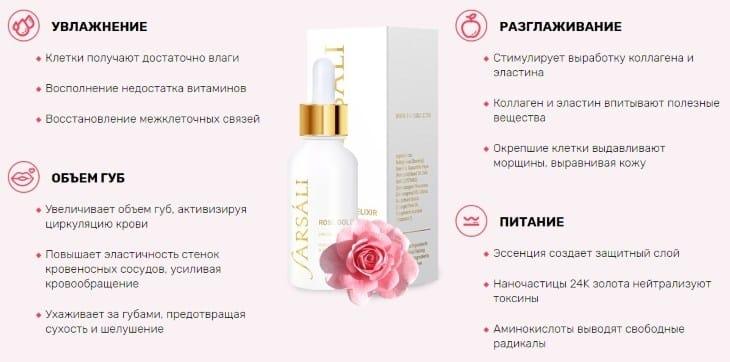 Комплексный подход 3 в 1 - Farsali Rose Gold Elixir