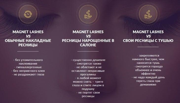Главные преимущества Magnet Lashes