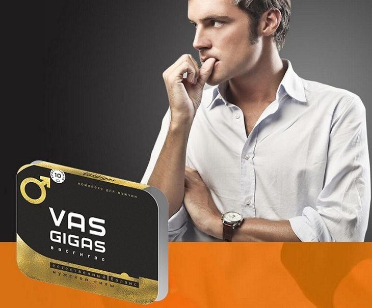 Показания к применению Vas Gigas