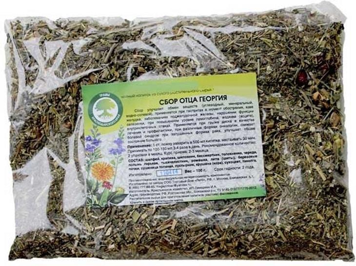 монастырский антипаразитарный сбор трав чай от паразитов